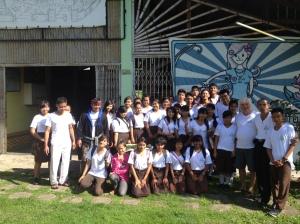 Eco Club tour of Temesi Recycling